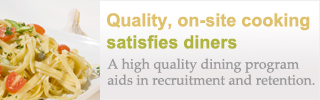 Top-Shelf Dining Aids in Recruitment and Retention
