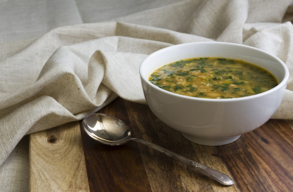... of SAGE | From Our Kitchen: White Bean, Spinach, and Leek Soup