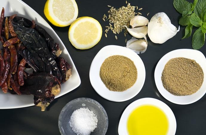 Ingredients Harissa
