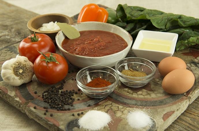 Ingredients Shakshuka